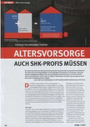 aus SHK Profis - Ausgabe 05/07 (3.123 KB .pdf) - tga-netzwerk.de