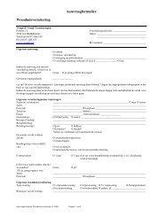 Aanvraagformulier Woonhuisverzekering - SLIMcms