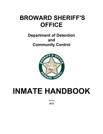 Broward County Inmate Search
