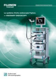 Le système d'écho endoscopie Fujinon. >> Visionary ... - Onis