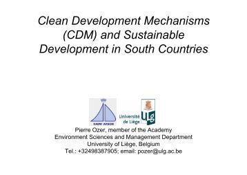 establishing mechanisms for sustainable development to Strategies and plans for specific and sustainable urban development an important goal in the new millennium is to make existing and new urban areas more self- sufficient, sustainable, and enjoyable places to live.
