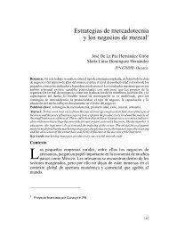 Estrategias de mercadotecnia y los negocios de ... - Convergencia