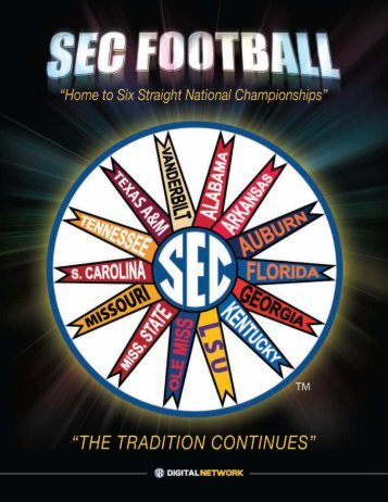 2012 SEC Football Media Guide - Southeastern Conference