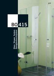 System BO 415 - GLASMA SERVICE