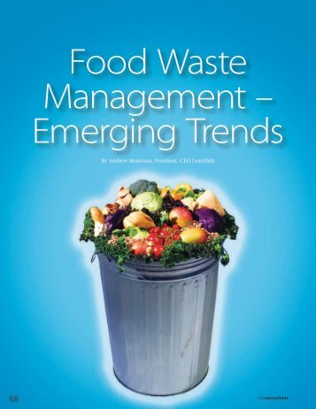 Food Waste Management Emerging Trends - LeanPath