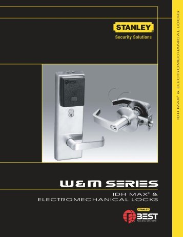 IDH MAX® & ELECTROMECHANICAL LOCKS - Best Access Systems