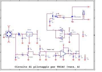 Circuito di pilotaggio per TRIAC (vers. A) - ITIS G. Galilei