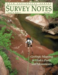 Survey Notes - Utah Geological Survey