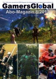 Leseprobe Abo-Magazin 6/2012 - GamersGlobal
