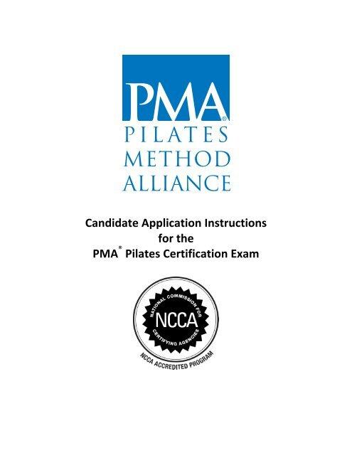 Certification Application Part 2 Pilates Method Alliance