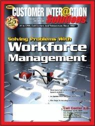Customer Interaction Solutions June 2007 Digital Issue