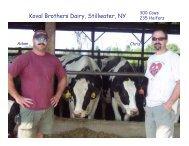 Koval Brothers Dairy, Stillwater, NY