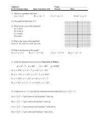 Ch. 8.1 - 8.4 Practice Quiz