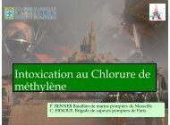 intoxication au Chlorure de Méthylène.pdf - SMUR BMPM
