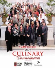 Culinary Connoisseurs - New Orleans City Business