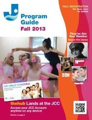 Program Guide Fall 2013 - JCC on the Hudson