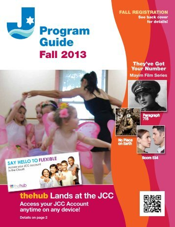 Program Guide Fall 2013 - JCC on the Hudson