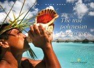 Upload our Incentive brochure here - Bora Bora Resorts