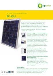 BP 365J - Mare Solar