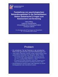 Problem - Psychologie – Aktuell