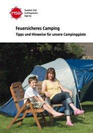 Tipps und Hinweise für unsere Campinggäste - Msb.se