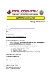 Senarai Kursus Yang Ditawarkan Politeknik Kota Bharu