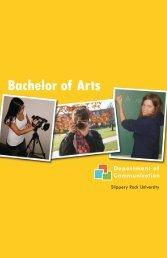 Bachelor of Arts - Slippery Rock University