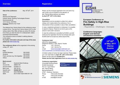 Fire Safety in High-Rise Buildings - Universität Duisburg-Essen