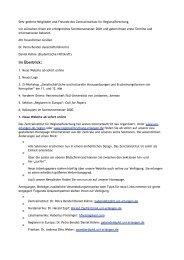 Newsletter 03/2001 - Zentralinstitut für Regionenforschung