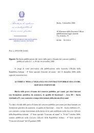 Avviso 12 dicembre 2008.pdf - Autorità per la Vigilanza sui Lavori ...
