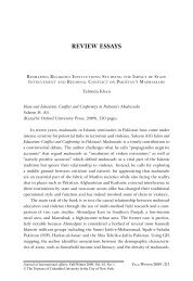 review essays - Journal of International Affairs - Columbia University