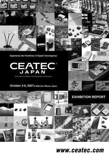 CEATEC JAPAN 2007 Exhibition Report (940KB)