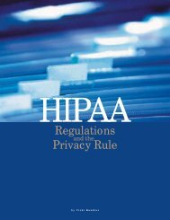hipaa regulations and the privacy rule (pdf*) - Mallinckrodt Institute ...
