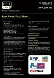 fact sheet - Ipex