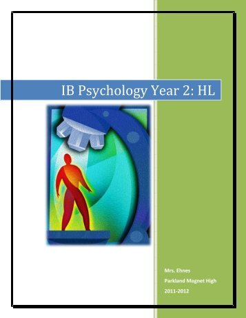 ib psychology hl paper errors in Your ib diploma grade in psychology is based on the following four scores: 1 paper 1: 2 hours - 35 % (46 marks total, combining part a and b) (wednesday, may 7 th , 1230-3pm, main gym.