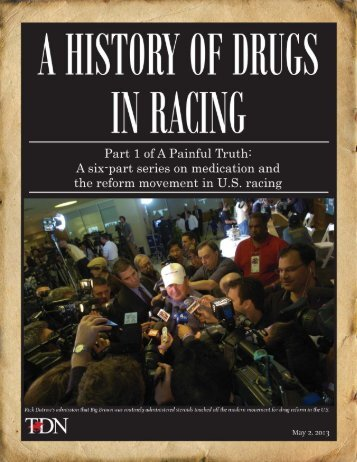 Magazine-Drugs in Racing-Part I