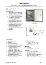 XMP-CMM - AUTEC Gesellschaft für Automationstechnik mbH