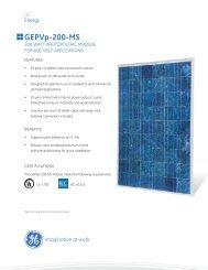 GEPVp-200-MS - Solar Energy of Illinois