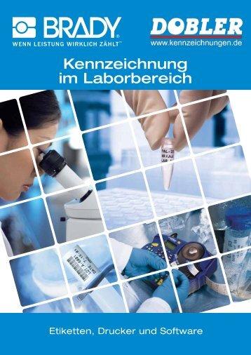 Etikeeten zur Kennzeichnung im Laborbereich - Kennzeichnungen.de