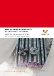 WIBOREX Injektionsbohranker - Minova CarboTech GmbH
