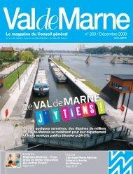 ValdeMarne n°263 - Conseil général du Val-de-Marne
