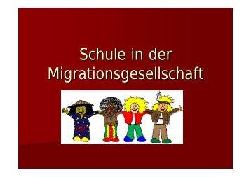 Schule in der Migrationsgesellschaft - Petra-buchwald.de