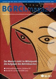 Ausgabe Januar / Februar 2012 - Berufsgenossenschaft Rohstoffe ...