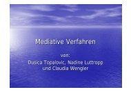 Mediative Verfahren - Petra-buchwald.de