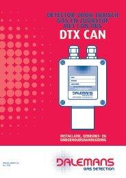 Détecteur DTX CAN - Dalemans Gas Detection