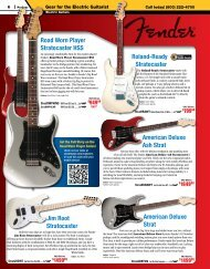 Jim Root Stratocaster Roland-Ready Stratocaster American Deluxe ...
