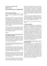Bericht zur Delegiertentagung 12. März 2010 - Amt für Kirchenmusik