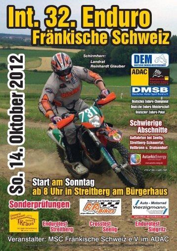 Internationale 32. ADAC- Zuverlässigkeitsfahrt ... - MSC-Fr-Schweiz