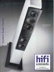 Fazit - System Audio