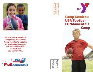 to view a brochure for this camp! - YMCA Camp Manitou